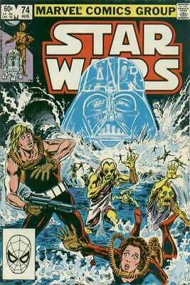 Star Wars (1977 series) #74 in Fine + condition. Marvel comics [*qh]