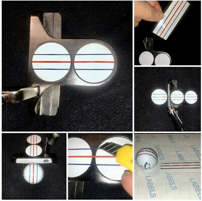 DECAL to Give Your Putter The ODYSSEY TRIPLE TRACK Look!! WHITE or CLEAR Backing