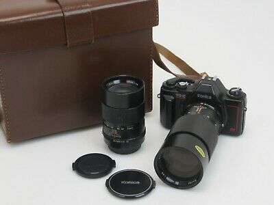 Konica TC X DX 214704 2x Objektiv Telephoto f3,5 200mm f2,8 135mm sw100