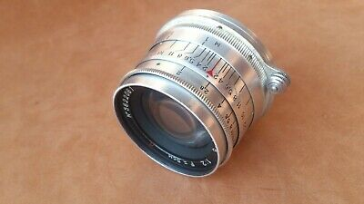 JUPITER-8 2/50mm SILVER EARLY M39 Portrait Lens for mirrorless cameras TESTED