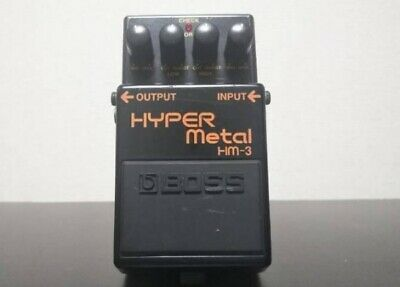 BOSS HM-3 Heavy Metal Distortion Guitar Effects Pedal from Japan F/S
