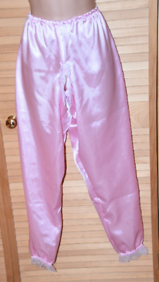 baby pink long legged cotton bloomers