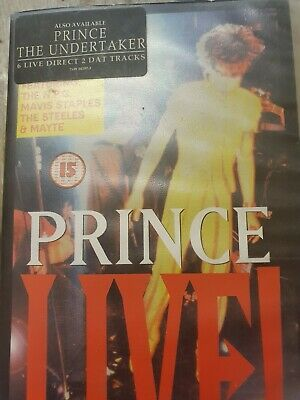 Prince / Live! - The Sacrifice Of Victor  Vhs Video Cassette Pal Not Dvd Not Dvd