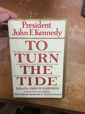 First Edition To Turn The Tide By John F. Kennedy 1962 American Politics