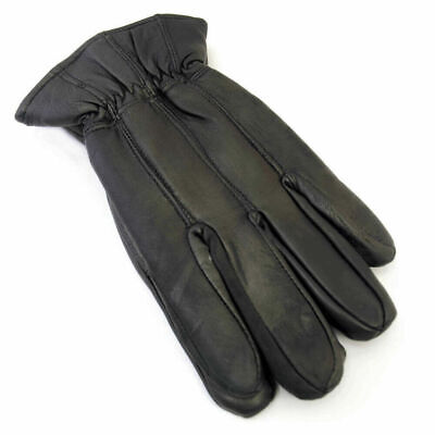 Mens Soft Sheepskin Real 100% Leather Gloves with lining gl clearance