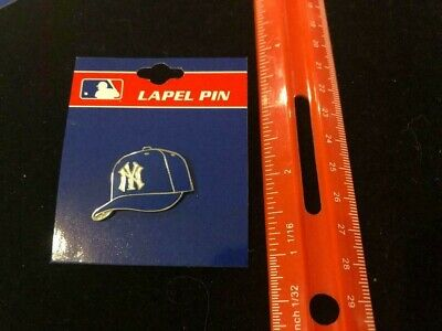 New York Yankees Pin Navy White MLB New Era 59Fifty Fitted Hat Cap DS NY RARE