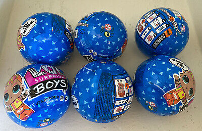 LOL Surprise Boys Series 2 - Lot Of  6 BALLS -  In Hand Fast Shipping - Lol Doll