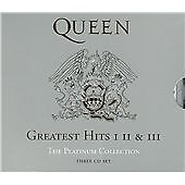Queen ‎– Greatest Hits I II & III (The Platinum Collection) (2011)  3CD  NEW