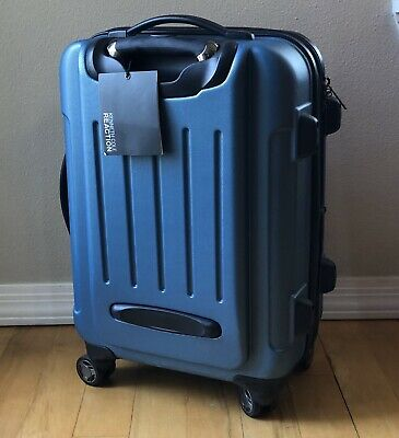 "Kenneth Cole Renegade II 20"" Expandable 8-Wheeled Upright Carry On Suitcase"