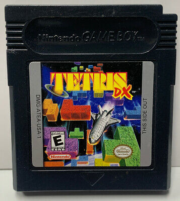 Tetris DX for Nintendo GameBoy Color GBC Cartridge Only Authentic NTSC Game Boy