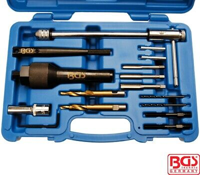 BGS Tools Glow Plug Removal And Thread Repair Set 8297