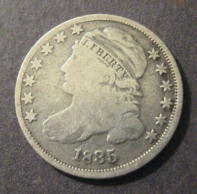 1835  Capped Bust  Dime - Silver - * Capped Bust (1809-37) * - (P1470)