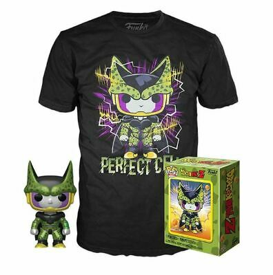 Funko Pop Animation Dragonball Z 13 Metallic Perfect Cell and Tee Gamestop