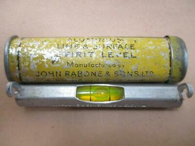 Line level, surface level, John Rabone and Sons, vintage