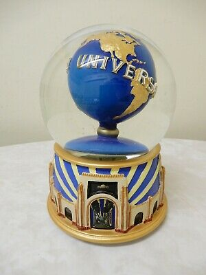 Universal Studios Musical Wind-Up Snow Globe/Dome The Sting Movie Tune Bnnt