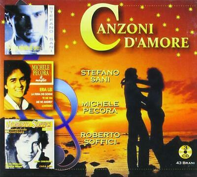 Audio Cd Canzoni D'Amore (3 Cd)