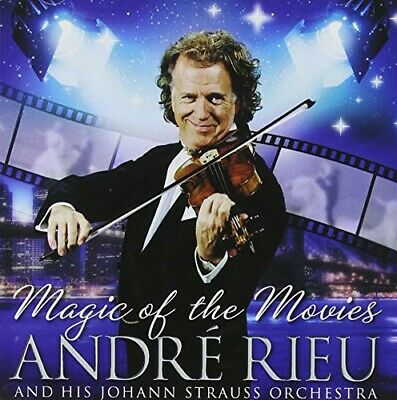 Audio Cd Andre' Rieu: Magic Of The Movies (2 Cd)