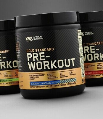 Optimum Nutrition Gold Standard Pre-Workout 330g New Stock BB May 2022
