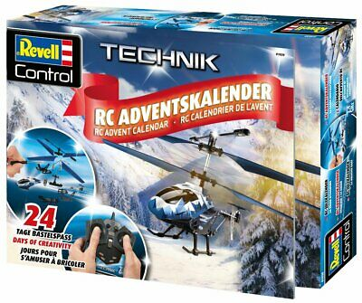 Merchandising Revell Helicopter Advent Calendar