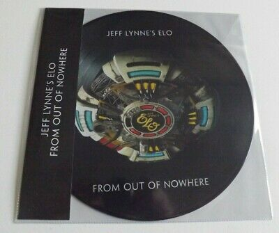 Jeff Lynne's ELO From Out of Nowhere Limited Edition Picture Disc Vinyl NEW