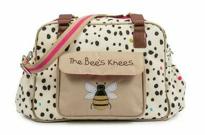 SECONDS - Pink Lining Dalmatian Fever The Bee's Knees Changing Bag