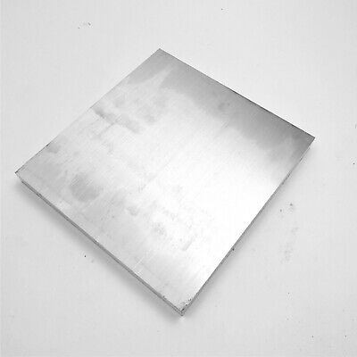 ".875"" thick 6061 Aluminum Flat PLATE 9.5"" x 10"" Long Solid Flat Stock sku 122265"