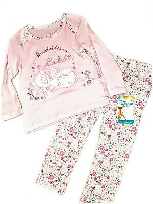 DISNEY BABY GIRL BAMBI PYJAMAS 2 PIECE SET PINK  3 6 9 12 18 24 months