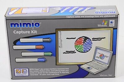 MIMIO USB INTERACTIVE WHITEBOARD CAPTURE KIT With VIRTUAL INK