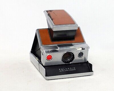 Polaroid SX-70 Land Camera Alpha Executive Instant Film Camera Vintage