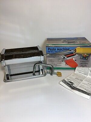 Amaco Pasta Machine Used With Polymer Clays or Soft Metal Sheets 12381S NEW