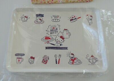 "Sanrio 2019 Hello Kitty 13"" x 9"" Meal Melamine Serving Tray NEW"