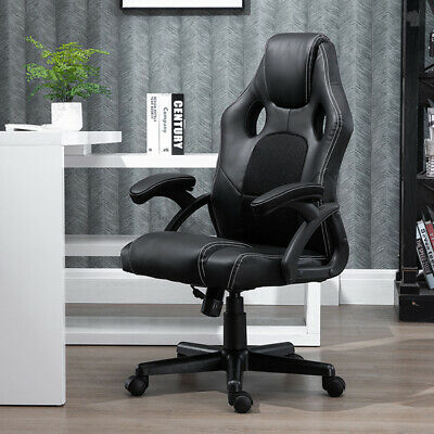 Faux Leather Gaming Chair Office Chair Ergonomic Swivel Chair Heavy Duty Office