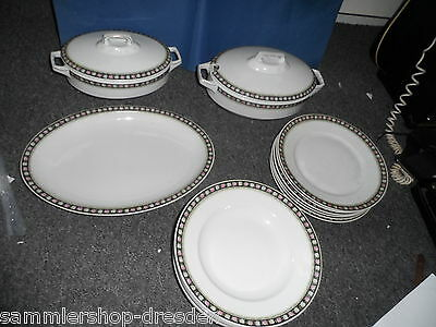 24359 Hutschenreuther Speiseservice 1920 16 Tle dinner service very good Service