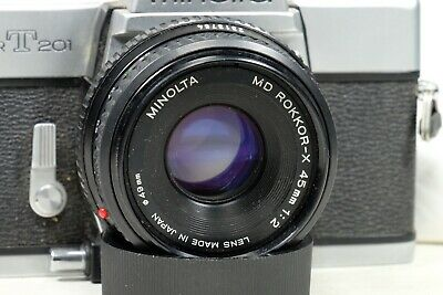 Minolta Rokkor-X 45mm f2 MD Mount With EXTRA!!!