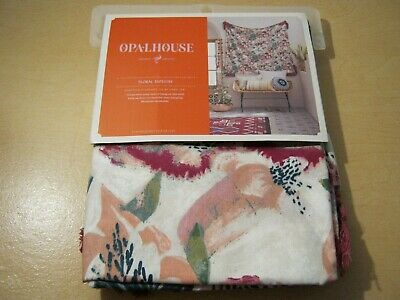 Target Opalhouse Pink Floral Wall Tapestry Tassel 57 x 57