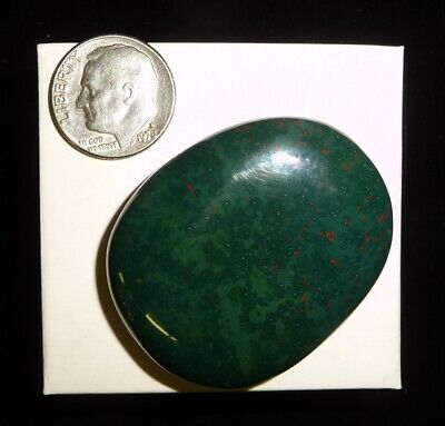 Bloodstone Smooth Stone India 24 grams A Grade