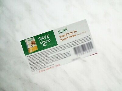 SAVE on KASHI CEREAL Products Coupons - 10x $2.00  (330)