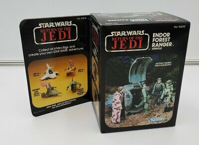 1983 Star Wars RETURN OF THE JEDI- Endor Forest Ranger Vehicle NEW in Box Sealed