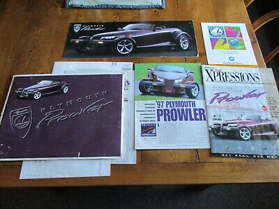 Plymouth Prowler Advertsing Packet