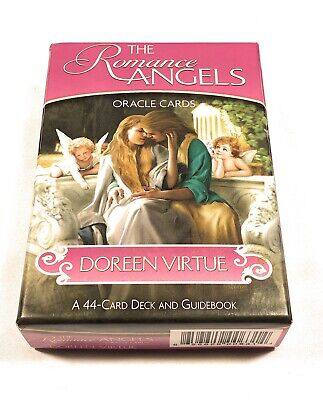 Romance Angels Oracle Doreen Virtue 44-Card Deck ( Missing 2 Cards), Guidebook