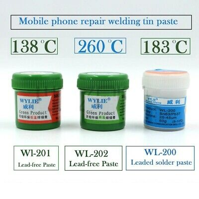 Solder Paste Maintenance Soldering Tin Mud Phone CPU Flow Temperature Lead Free