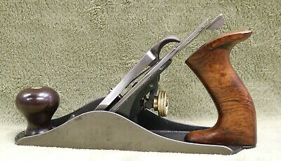 Stanley Bailey No 4 Hand Plane Type 6ish Refurbished/Tuned (Rosewood) L401
