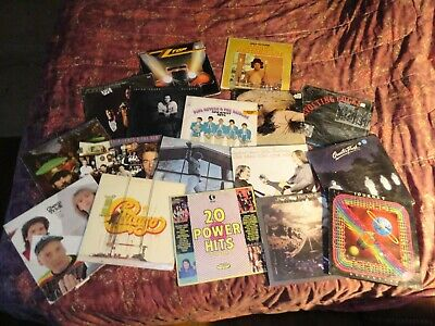 Two Albums Your Pick From List LP Vinyl Records Vintage Many Artists