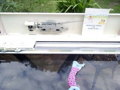 Brother kh260 chunky 24 stitch punchcard fully serviced and tested nice machine