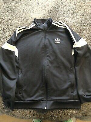 blue adidas tracksuit top Age 13-14 Years