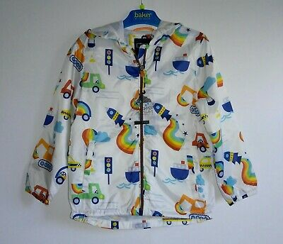 BNWT Next Boys Cagoule/Rain Jacket Age 4-5 years