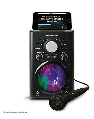808 Audio Singsation Bluetooth Karaoke System with Light Effects & Microphone