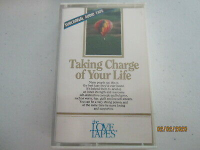 Subliminal Taking Charge of Your Life Cassette 1986 The Love Tapes