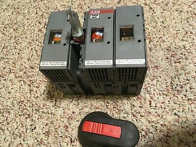 Abb Os-60j12 60 amp 3 pole disconnect switch includes fuses