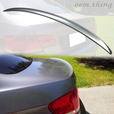 FOR PAINTED COLORMW E92 3-Series 2D Coupe CSL Type Rear Trunk Boot Spoiler ABS
